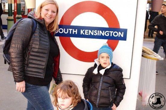 Station Metro Londres