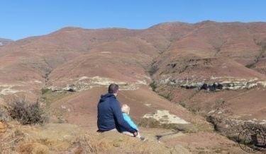 Voyage avec les enfants, Les montagnes du Drakensberg