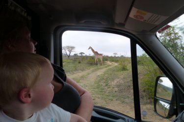 Voyage et enfants-Hluluwe Imfolozi